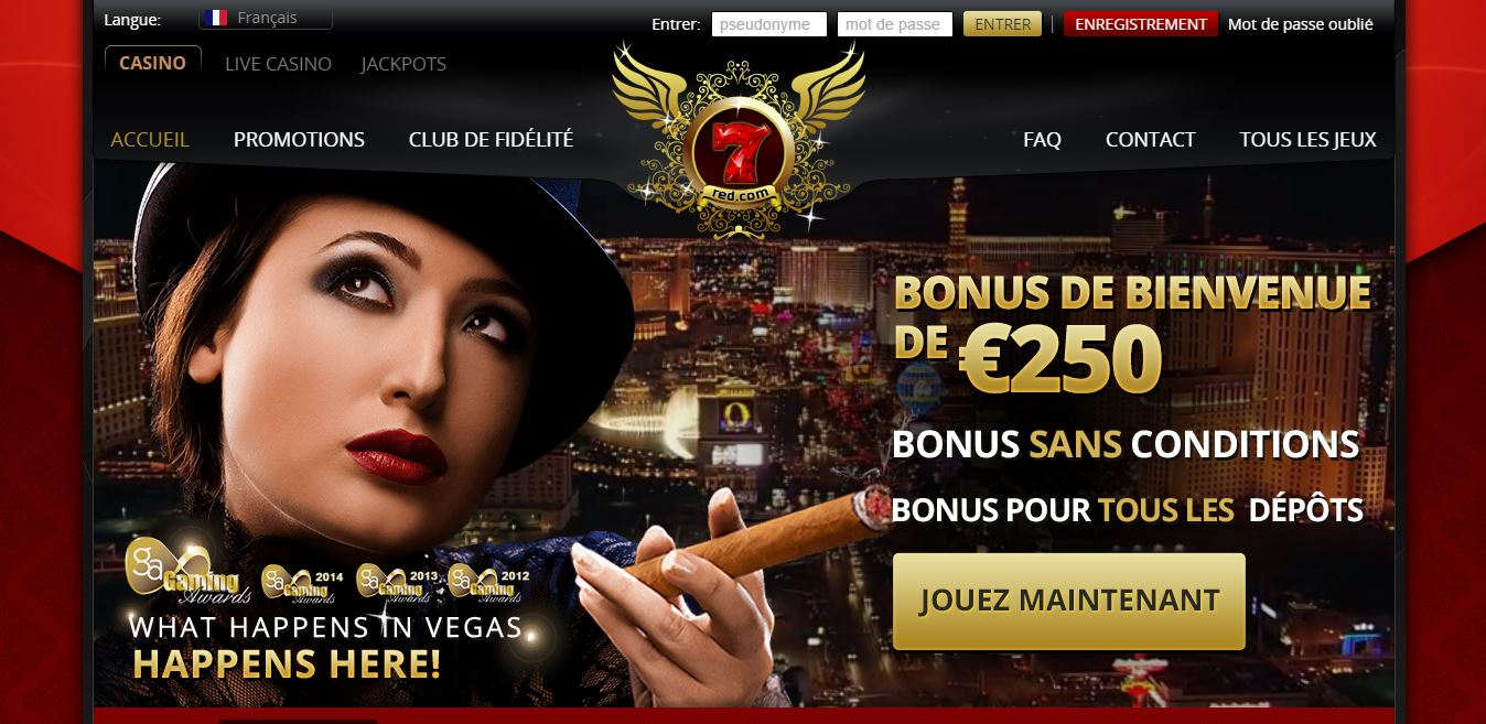 Accueil 7Red casino