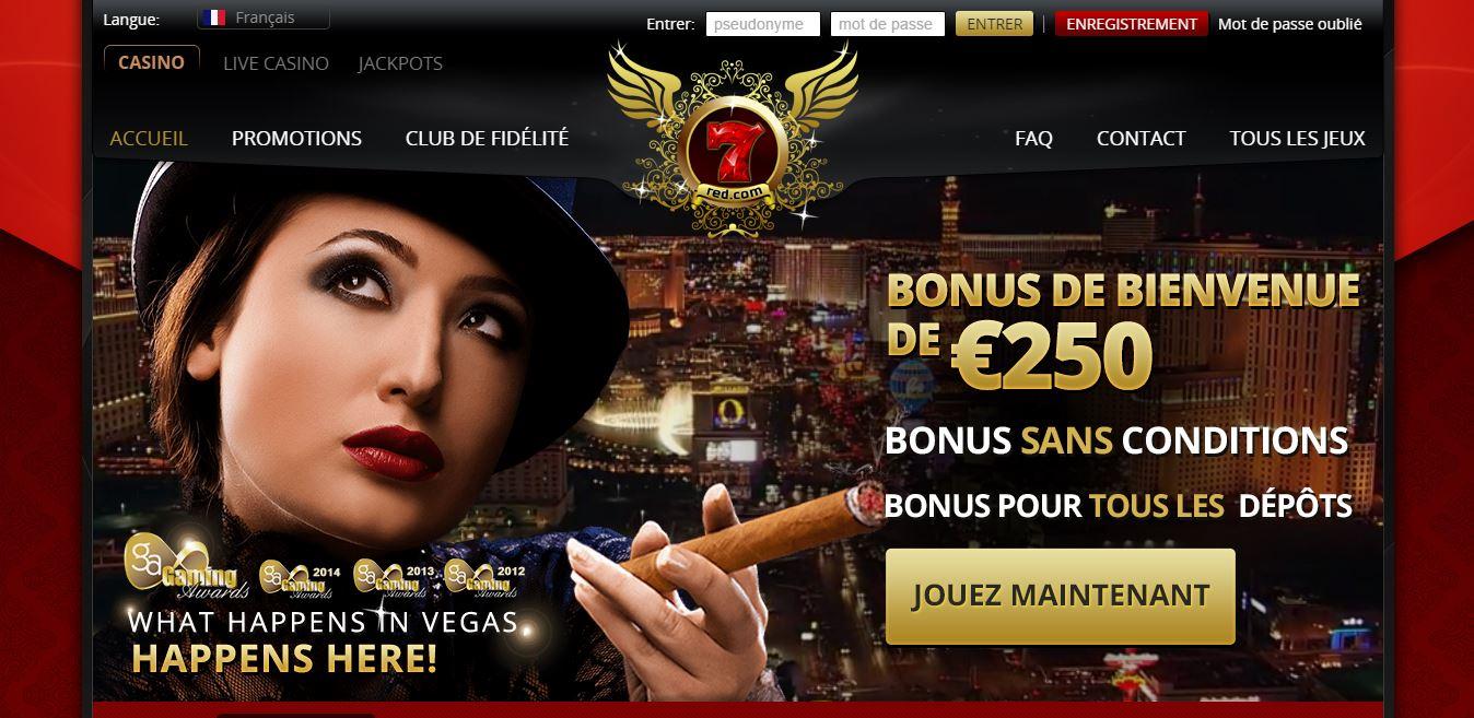 Accueil 7Red casino
