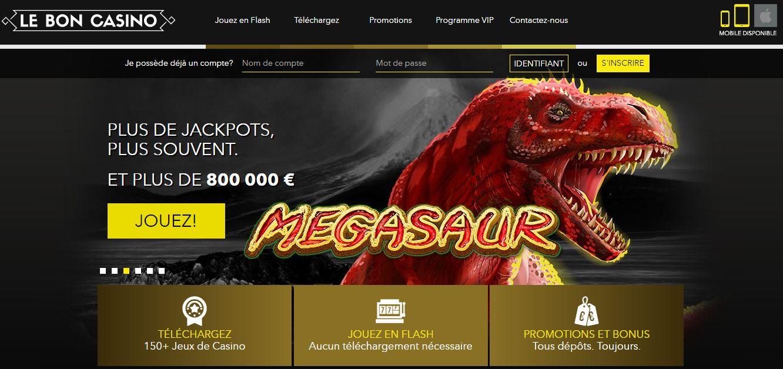 Page d'accueil Cheri Casino