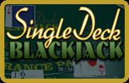 Single Deck Blackjack BetSoft - jeu gratuit