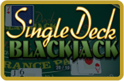 Single Deck Blackjack BetSoft - jeu gratuit