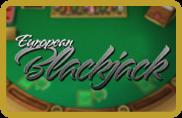 European Blackjack BetSoft - jeu gratuit
