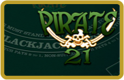 Pirate 21 Blackjack BetSoft - jeu gratuit