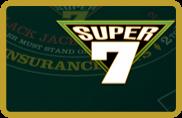 Super 7 Blackjack BetSoft - jeu gratuit