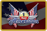 All American 1 Hand - video poker - NetEnt