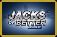 Jacks or Better Double Up - Video poker - NetEnt