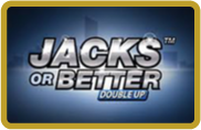 Jacks or Better Double Up - Video poker - NetEnt