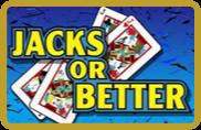 Jacks or Better - video poker - NetEnt