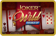 joker Wild Double Up - video poker - NetEnt