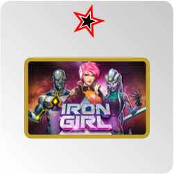Iron Girl - machine à sous Play'n Go