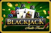 Blackjack Multihand iSoftBet - jeu gratuit