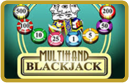 Blackjack Multihand Pragmatic Play - jeu gratuit
