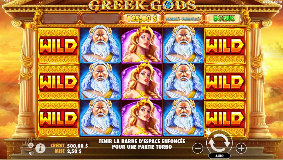 Greek Gods - capture écran