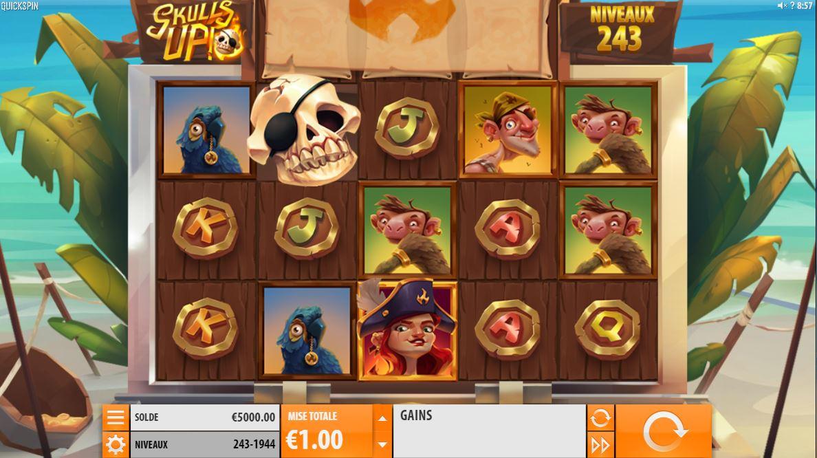 Skulls Up - capture écran