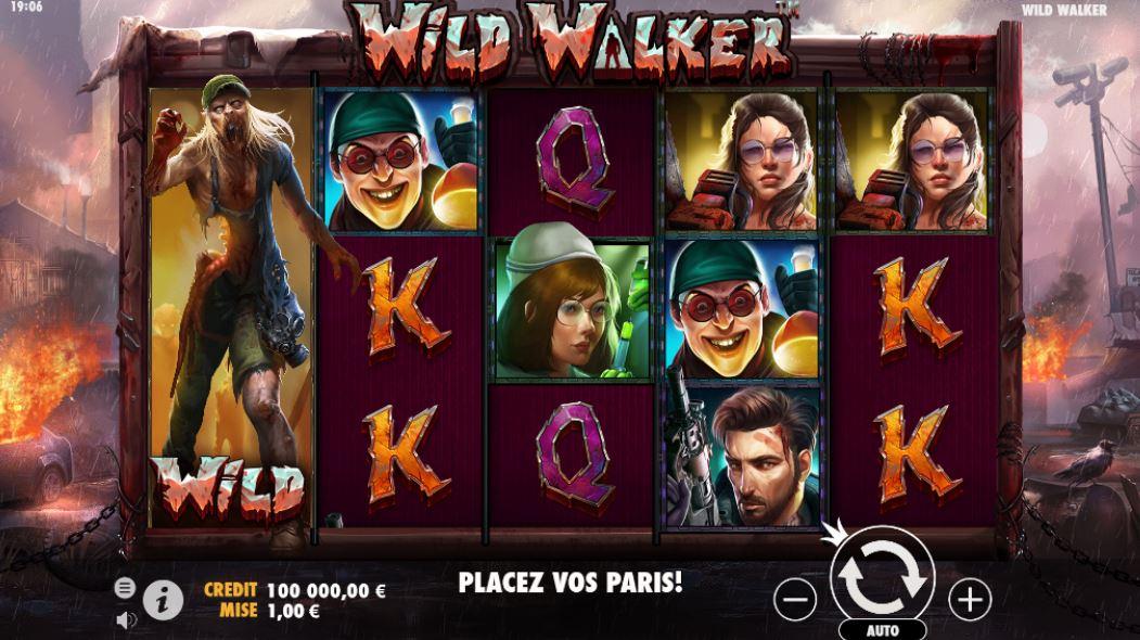 Wild Walker - capture écran