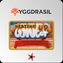 Bonus Casino Yggdrasil - Heating Up Winter