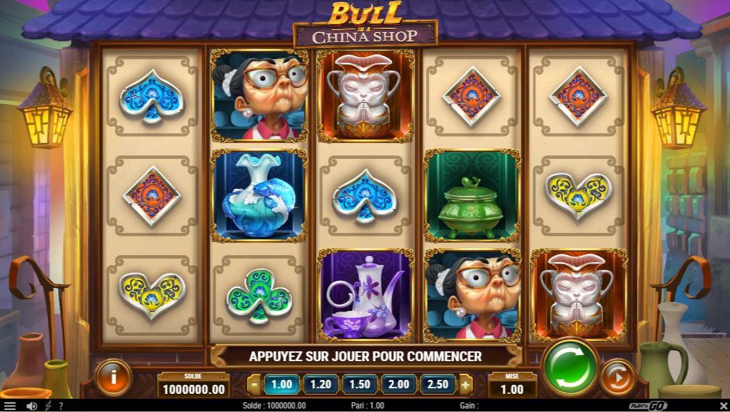 Bull In A China Shop - capture écran