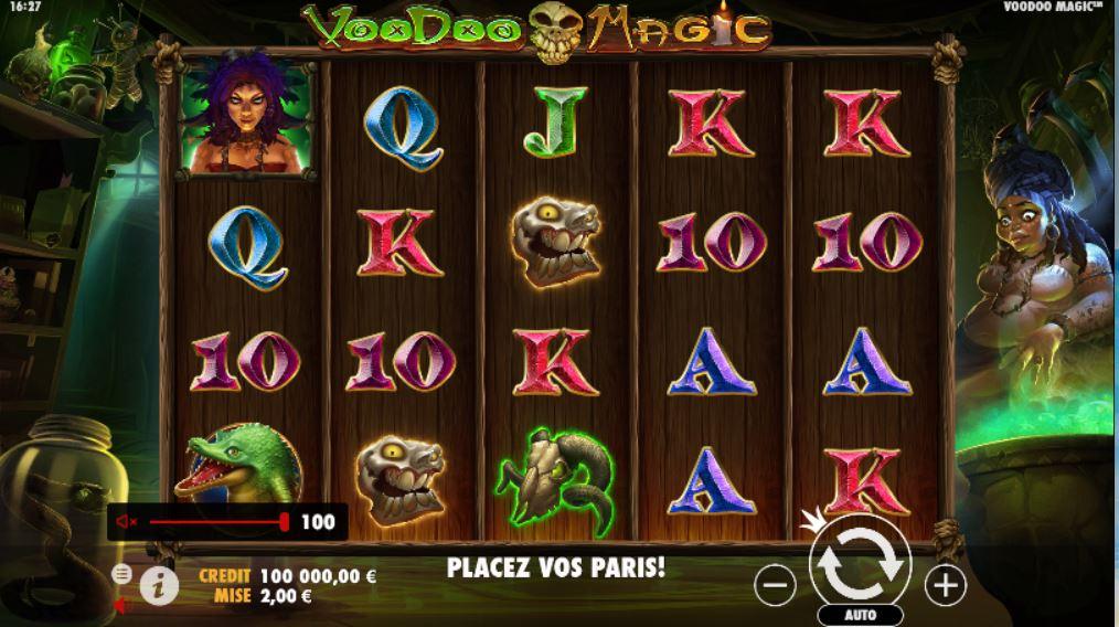 Voodoo Magic - capture écran