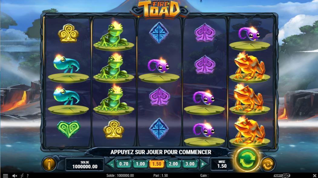 Fire Toad - capture écran